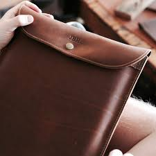 50 personalized fine leather sleeve case for apple