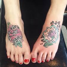 женская татуировка на ноге выше колена какие бывают красивые