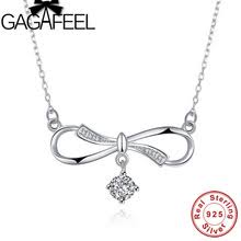 infinity sign forever. gagafeel trendy 925 sterling silver infinity sign necklace pendants bling cz forever love pendant romantic birthday gifts r