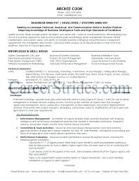 Obiee Business Analyst Architect Resume Architect Resume Chic ...