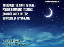 Quotes About Dreams And Wishes Best Of Best Good Night Sweet Dreams Wishes Messages And Quotes Happy Wishes