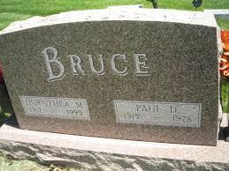 Dorothea Marie Danbom Bruce (1917-1995) - Find A Grave Memorial