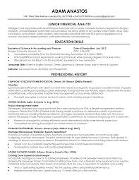 Example Of A Excellent Resume Examples Of An Excellent Resume