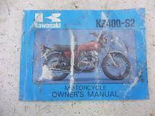 kawasaki wiring diagrams in motorcycle parts 1976 kawasaki kz400 s2 kz 400 k495 6 owners manual w wire diagram