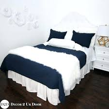 navy white custom designer bedding collection collections luxury