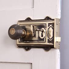 Large Brass Rim Lock