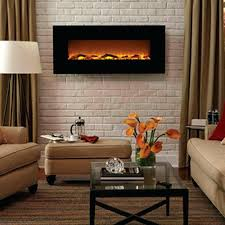 black wall mounted electric fireplace costco napoleon slimline eflh mount heater reviews contemporary hung