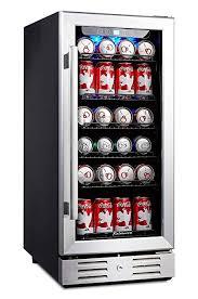 "Vending Machine Fridge Stunning Amazon Kalamera 48"" Beverage Cooler 48 Can Builtin Single Zone"