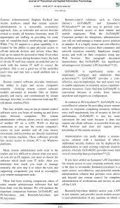 Remote Administration Tools A Comparative Study Pdf