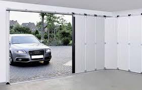 Horizontal Sliding Garage Doors For Decor The Side Sectional Door