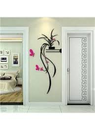 orchid wall art stickers