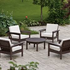eon resin outdoor conversation set  hayneedle