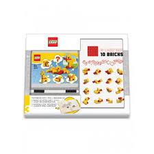 <b>Lego Classic Книга</b> для записей с ручкой и минифигурой Duck Build