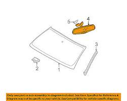 brand new genuine gm oem interior rear view mirror 13585948 gm oem inside rearview rear view mirror 13585948