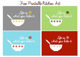 For Kitchen Art Free Kitchen Art Printable Uncommon Designs