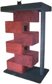 modern cat tree furniture. cube cat tower i am determined to build this for our cats clearly modern tree furniture