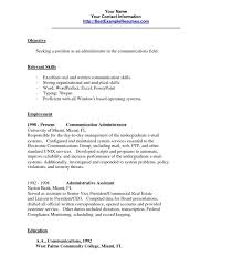 Communication Skills Resume Amazing 6820 Communication Skills On Resume Exceptional Good For A Template
