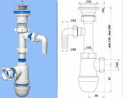 Подключение к канализации ванны мойки инсталляции сифона биде  Конструкция сифона для раковины