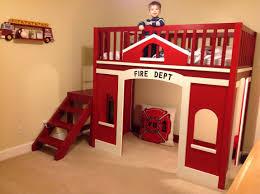 fire truck toddler bed diy