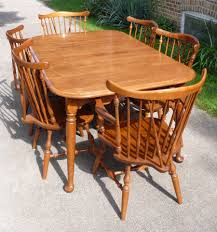 ethan allen dining tables. Exciting Dining Chair Theme Including I Have An Ethan Allen Nutmeg 10 6020 Table 6 Tables
