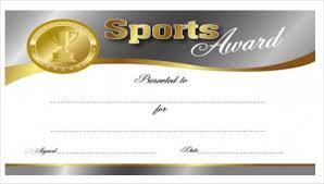 25 Sports Certificates In Pdf Sample Templates Elite Board Us