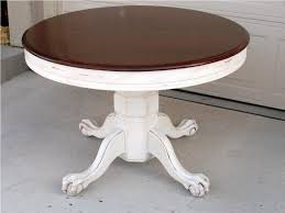 amazing distressed round coffee table with black distressed round dining table kilberis distressed wood