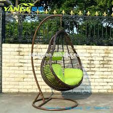 hanging chair outdoor hanging swing chair outdoor furniture garden sky w stand outdoor hanging egg chair