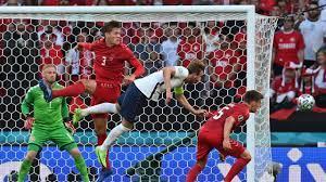 watching England vs Denmark match ...