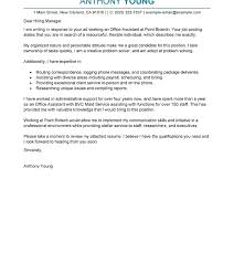 Cover Letter Example Australia Cover Letter Examples Free Bunch