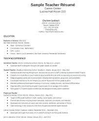 Resume Sample In Word Format