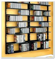 wall storage shelves mounted tower target and unit cd dvd mount racks full size