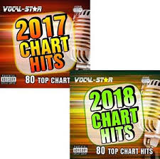Cd Charts 2017 Details About 2018 2017 Karaoke Pop Chart Hits 160 Songs Cdg Cd G 8 Discs Vocal Star Bundle