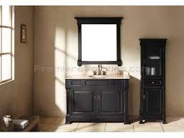 39 Bathroom Vanity Modern Bathroom 39 Inch Single Bathroom Vanity With Black Finish