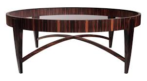 TUSK COFFEE TABLE ROUND   Contemporary Transitional Mid Century / Modern  Coffee U0026 Cocktail Tables   Dering Hall
