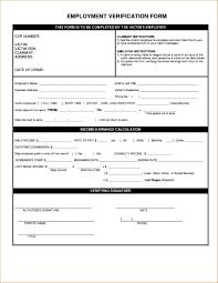 Employment Verification Templates Printableent Verification Form Template Previous Request For