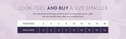 Nydj Size Chart Nydj Womens Wylie Trouser Jeans Black 6 At Amazon Womens