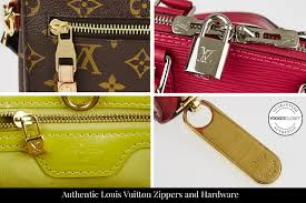 authentic louis vuitton zippers and hardware guide