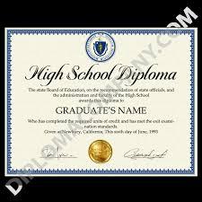 High School Deploma Fake Usa High School Diploma Diplomacompany Com