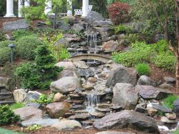 Small Picture Backyard Waterfall pond and garden in Connecticut by Matthew