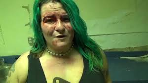 KATHY THE BUTCHER talks after LAST BROAD STANDING at BLOODFEAST ...