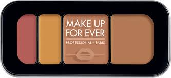 make up for ever ultra hd underpainting color correcting palette 6 6g 40 tan