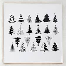 Christmas Tree Wall Decal  RoselawnlutheranChristmas Tree Decals