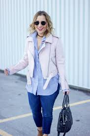 pastel pink faux suede jacket from zara is a must have for spring