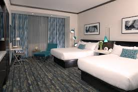 our deluxe two queen room is the perfect choice