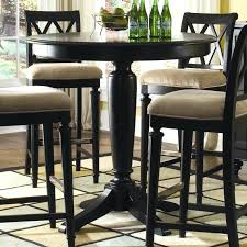 42 inch high dining table table exciting inch tall round top black pedestal pub table regarding