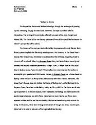 a seperate peace essay co a seperate peace essay