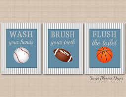 >amazon sports bathroom decor kids sports bathroom wall art  sports bathroom decor kids sports bathroom wall art soccer football baseball basketball bathroom