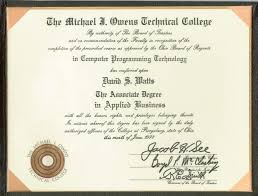 computer tech degree david stephen watts resume computer training