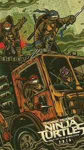 age mutant ninja turtles 2016 fan art tmnt 2 iphone wallpaper
