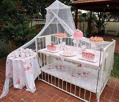 Safari Girl Baby Shower Decorative SwirlsBaby Shower For Girls Decorations